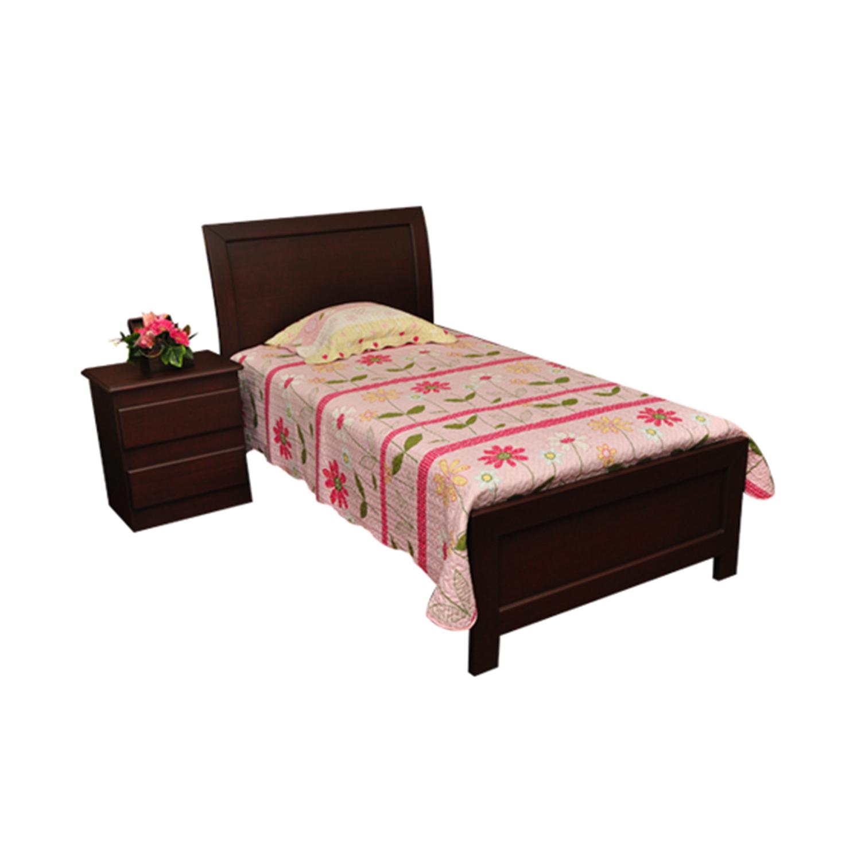 Cama individual trineo muebles leiva - Estructura cama individual ...