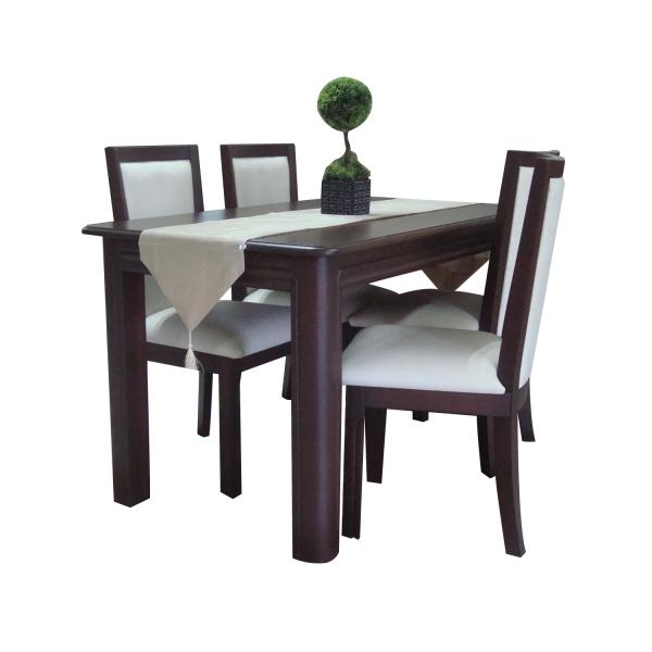 Comedor-Rectangular-Respaldo-tapizado